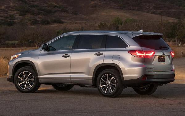 2018年7月七座SUV销量排行榜 丰田汉兰达售9487台新车夺冠 七座SUV排行