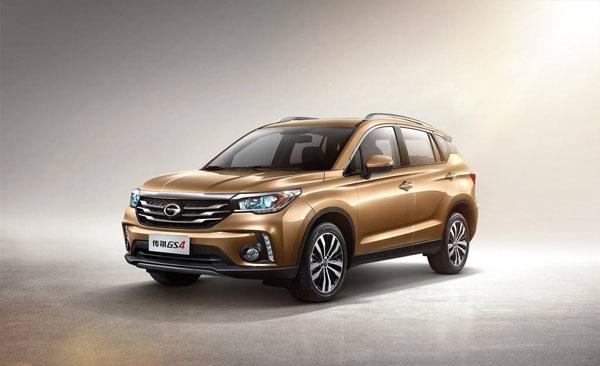 2018年8月份15万SUV销量排行榜 传祺GS4销量小涨超博越 15万SUV