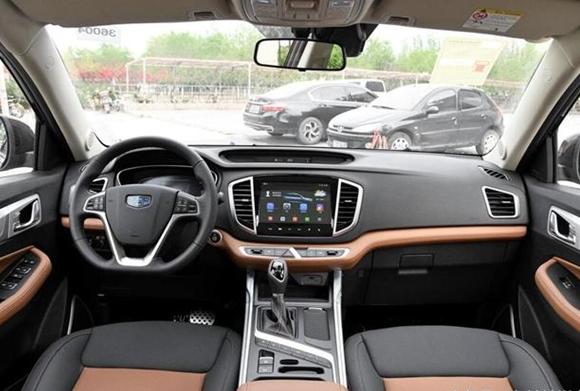 2018年5月吉利远景SUV销量(10285辆),远景SUV新摸样新魅力 2018年5月吉利远景SUV销量(10285辆),远景SUV新摸样新魅力 吉利SUV 第3张