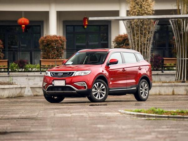 2017年1月吉利博越精品SUV销量达20147辆 吉利SUV
