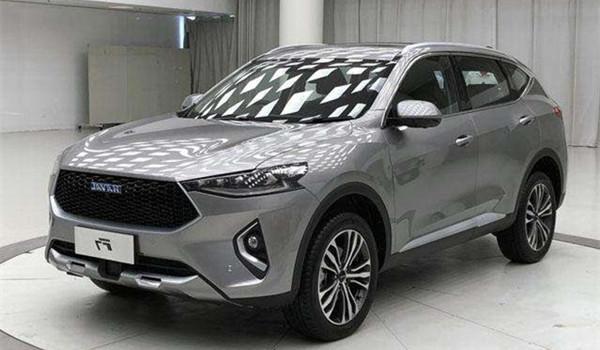 哈弗F7八月销量 2019年8月销量10036辆(销量排名第22) 哈弗F7八月销量 2019年8月销量10036辆(销量排名第22) SUV车型销量 第1张