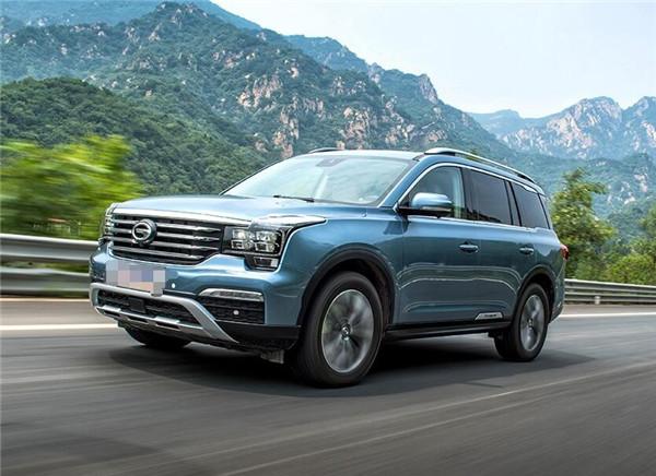 广汽传祺GS8八月销量 2019年8月销量1621辆(销量排名第113) 广汽传祺GS8八月销量 2019年8月销量1621辆(销量排名第113) SUV车型销量 第2张