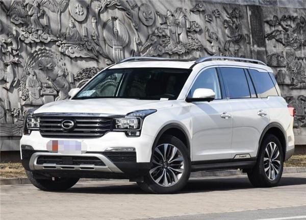 广汽传祺GS8八月销量 2019年8月销量1621辆(销量排名第113) 广汽传祺GS8八月销量 2019年8月销量1621辆(销量排名第113) SUV车型销量 第3张