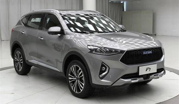 哈弗F7七月销量 2019年7月销量8040辆(销量排名第27) 哈弗F7七月销量 2019年7月销量8040辆(销量排名第27) SUV车型销量 第3张