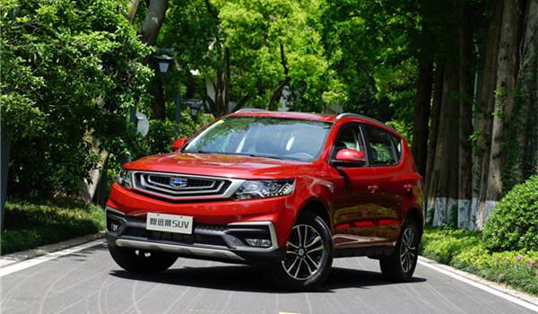 吉利远景SUV七月销量 2019年7月销量4661辆(销量排名第48) 吉利远景SUV七月销量 2019年7月销量4661辆(销量排名第48) SUV车型销量 第1张