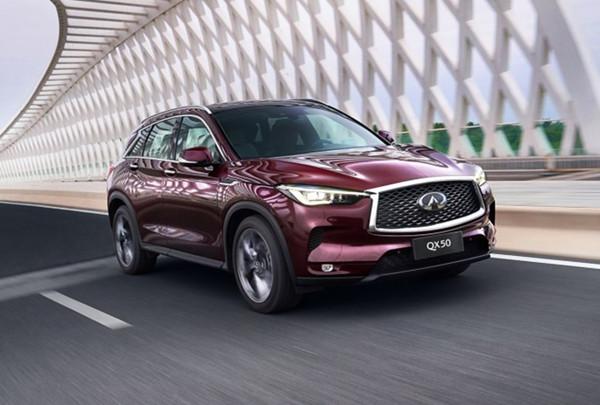 英菲尼迪QX50七月销量 2019年7月销量1562辆(销量排名第111) 英菲尼迪QX50七月销量 2019年7月销量1562辆(销量排名第111) SUV车型销量 第2张