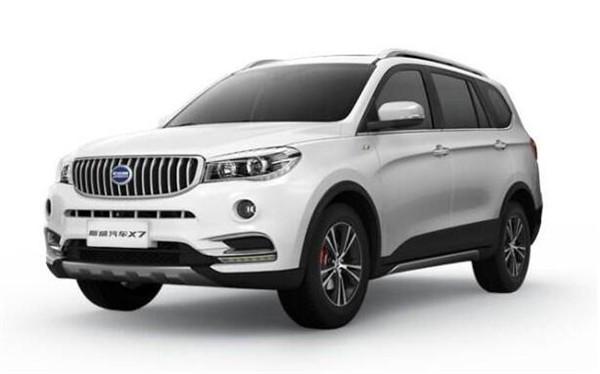 SWM斯威X7七月销量 2019年7月销量1190辆(销量排名第130) SWM斯威X7七月销量 2019年7月销量1190辆(销量排名第130) SUV车型销量 第4张