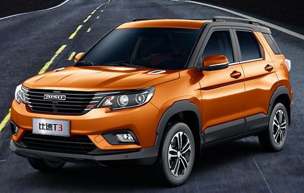 比速T3七月销量 2019年7月销量179辆(销量排名第220) 比速T3七月销量 2019年7月销量179辆(销量排名第220) SUV车型销量 第1张