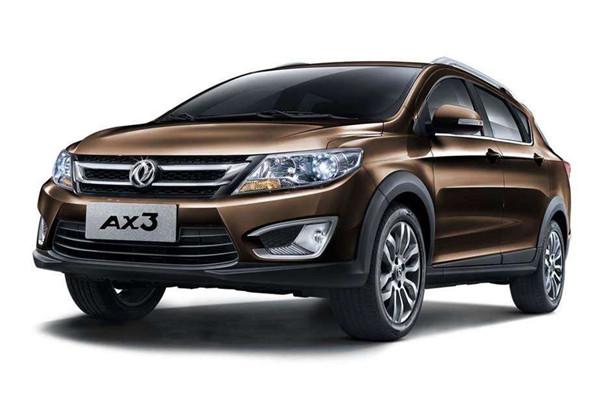 东风风神AX3七月销量 2019年7月销量48辆(销量排名第251) 东风风神AX3七月销量 2019年7月销量48辆(销量排名第251) SUV车型销量 第1张