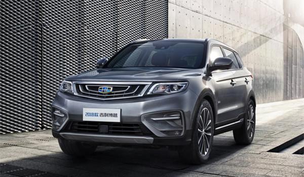 吉利博越六月销量 2019年6月销量13786辆(销量排名第7) 吉利博越六月销量 2019年6月销量13786辆(销量排名第7) SUV车型销量 第4张