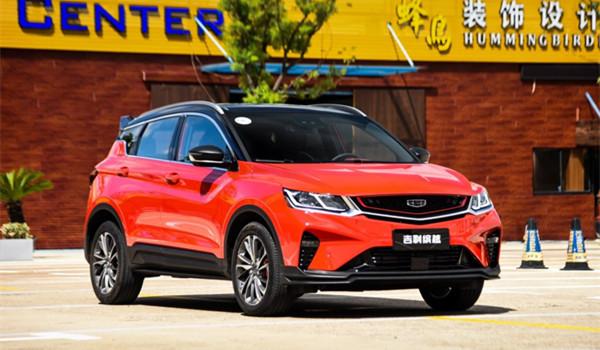 吉利缤越六月销量 2019年6月销量10398辆(销量排名第19) 吉利缤越六月销量 2019年6月销量10398辆(销量排名第19) SUV车型销量 第2张