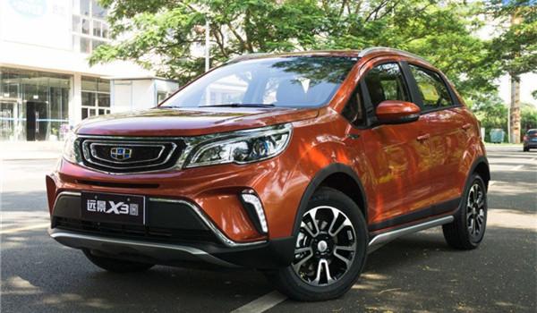 吉利远景X3六月销量 2019年6月销量5027辆(销量排名第44) 吉利远景X3六月销量 2019年6月销量5027辆(销量排名第44) SUV车型销量 第3张