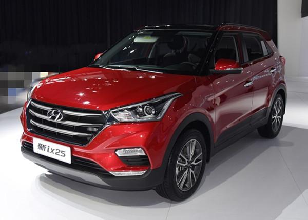 现代ix25六月销量 2019年6月销量3948辆(销量排名第64) 现代ix25六月销量 2019年6月销量3948辆(销量排名第64) SUV车型销量 第1张