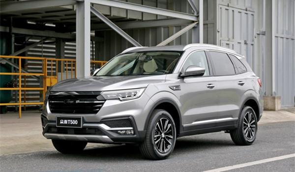 众泰T500六月销量 2019年6月销量2060辆(销量排名第112) 众泰T500六月销量 2019年6月销量2060辆(销量排名第112) SUV车型销量 第3张