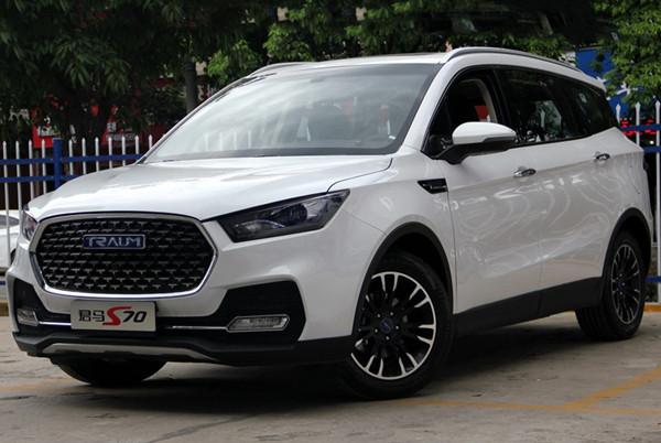 君马S70六月销量 2019年6月销量1558辆(销量排名第126) 君马S70六月销量 2019年6月销量1558辆(销量排名第126) SUV车型销量 第2张