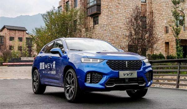 WEY VV7六月销量 2019年6月销量1015辆(销量排名第144) WEY VV7六月销量 2019年6月销量1015辆(销量排名第144) SUV车型销量 第3张