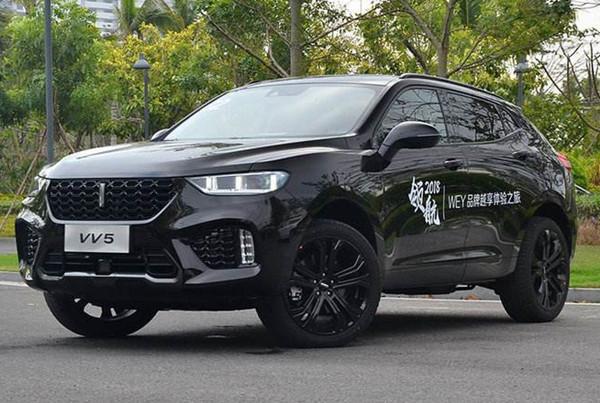 WEY VV5六月销量 2019年6月销量1002辆(销量排名第147) WEY VV5六月销量 2019年6月销量1002辆(销量排名第147) SUV车型销量 第3张