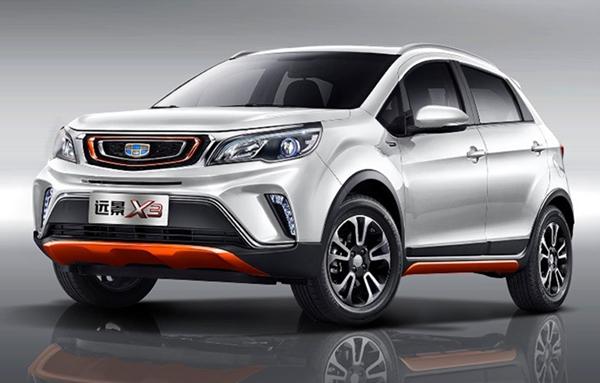 吉利远景X3五月销量 2019年5月销量5587辆(销量排名38名) 吉利远景X3五月销量 2019年5月销量5587辆(销量排名38名) SUV车型销量 第1张