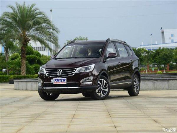 2015年8月SUV越野车销量十大排名 宝骏560高歌猛进 宝骏SUV