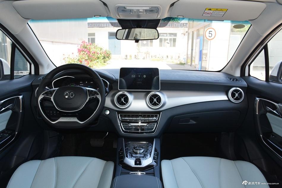 2018款北汽新能源EU系列 EU5 R550智潮版 Ta是小区最靓的仔 阳台岭看车之新能源车 SUV评测 第14张