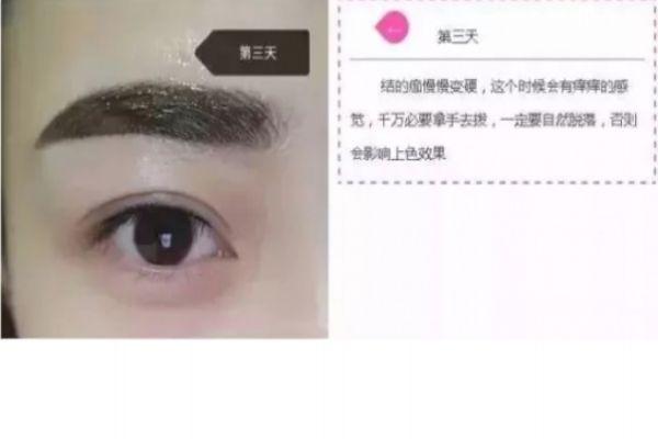纹眉几天会变细 纹眉七天的变化 纹眉几天会变细 纹眉七天的变化 知识库 第4张