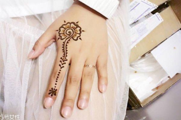 海娜纹身可以保持多久 海娜纹身图片 海娜纹身可以保持多久 海娜纹身图片 知识库 第3张