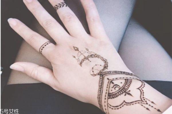 海娜纹身可以保持多久 海娜纹身图片 海娜纹身可以保持多久 海娜纹身图片 知识库 第5张