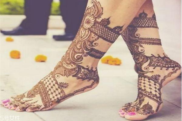 海娜纹身可以保持多久 海娜纹身图片 海娜纹身可以保持多久 海娜纹身图片 知识库 第12张