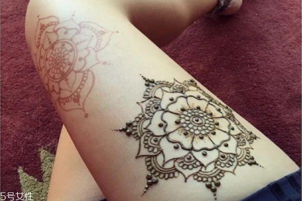 海娜纹身可以保持多久 海娜纹身图片 海娜纹身可以保持多久 海娜纹身图片 知识库 第16张